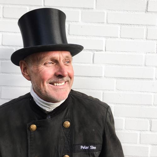 Portrait von Peter Sinn, Schornsteinfegermeister